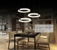 Modern European LED Crystal Chandelier C Shape Pendant Hanging Lamp Suspension Lighting Down Light Fixture LED006/450A