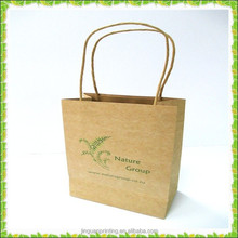 Custom Kraft paper bag /shopping paper bag /craft paper bag with factory price
