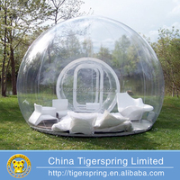 inflatable bubble lodge tent from Tigerspring