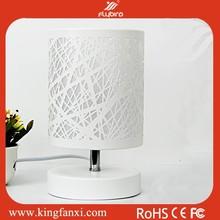Home Plastic Base decorative artistic table lamp