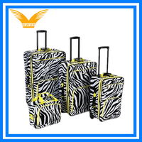 Fashion fancy girls trolley bag suitcase luggage for travel