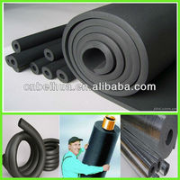 Pvc/nbr rubber foam pipe heat insulation building constuction material