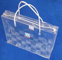 pvc zipper quilt bag