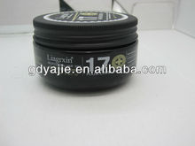 transparente 160g crema profesional sexy brillo para el cabello estilo de cera cera de pelo marcas desde guangzhou