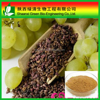 Organic Grape Seed Extract Procyanidins| Procyanidine 25% Proanthocyanidins Powder/Water Soluble Grape Seed Procyanidin