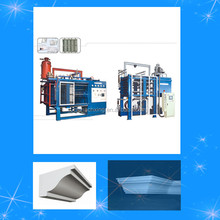 Full automatic vacuum eps shape moulding machine for styrofoam box with factory price