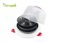 5pcs bakeware with round case