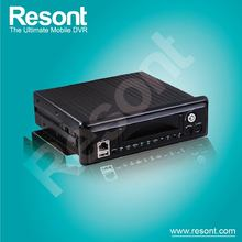 Resont Mobile Vehicle Car Video Surveillance Solution h 264 network dvr software