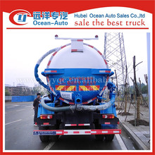 China fabricantes de caminhões caminhão de sucção de esgoto e vácuo vácuo profissional