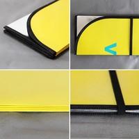 touch screen car radio for peugeot 307/207 cardboard car sunshade