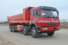 8*4 7.8m U style hopper tipper truck (Faw Chassis)