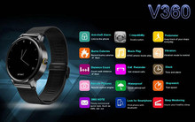 Waterproof Bluetooth Smart Watch Sleep Monitor Pedometer for moto d360