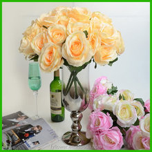 Top quality hot selling open rose flower for wedding decoration