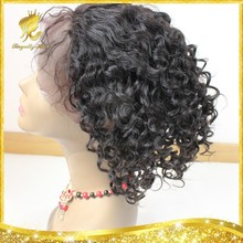 Brazilian Human Hair Wig Virgin Human Hair Kinky Curly Glueless Front Lace Wig/full lace wig With Baby Hair Fashion Black Women