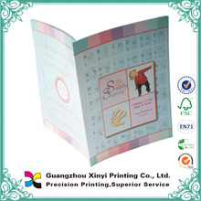 New edition mental modern design softcover artpaper custom printing exercise abacus books