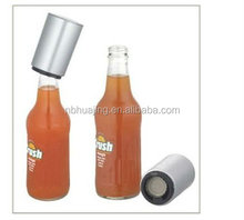Promotional push automatic metal stainless steel bottle opener