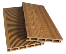 145X21mm hollow rewood color outdoor eco WPC plastic decking