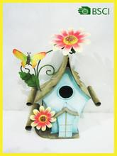 Metal handicraft antique bird house made in Xiamen