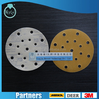 3M 236u grit Abrasive paper Scratch polish Diamond Silicon Carbide Velcro disc For Deburring wood MANUFACTURER