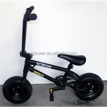 mountain bicycle, 10inch black mini bike, bmx freestyle