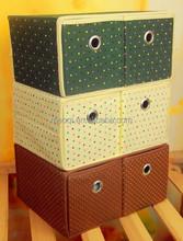 REACH standard cardboard storage bin living box