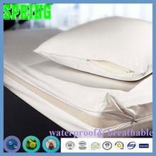 Queen Bed Spring Mattress Zipper Mattress Covers, 6 sides waterproof anti Bed Bug- Vinyl Free