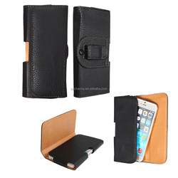 Universal New Stylish Belt Clip Case Holster For Samsung For Galaxy S6/S6 For Edge For iPhone 6 PU Leather Pouch Wallet Bag