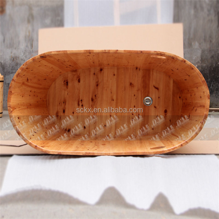 fashion design en bois baignoire en bois baignoire verticale. Black Bedroom Furniture Sets. Home Design Ideas