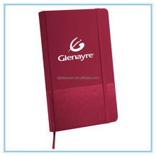 NEW Matte paper cover coloring book with back pocket and elastic strap for promotion