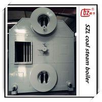 SZL energy saving water tube steam boiler for textile industry