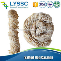 Food Natural Salted Hog Casing, Salted Sheep Casing, Salted Pork Casings in China Factory