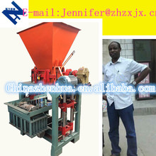 German Technology Direct Manufacturer High demand Quality Product QMJ4-35C small scale concrete block machine from manufacturer