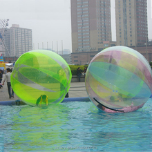 2.0M Transparent TPU Walking Ball For Water Park and Inflatable Pool