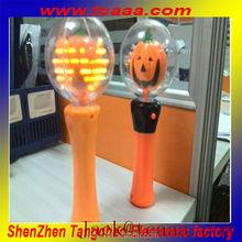 led plastic Pumpkin ball sticks china for Halloween decoration