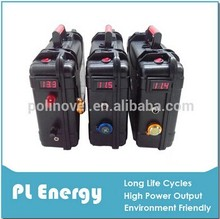 12V Lithium ion portable battery pack for fishing boat 70Ah