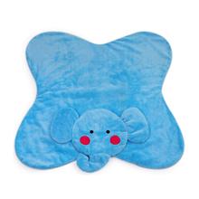 animal shaped plush baby play mat