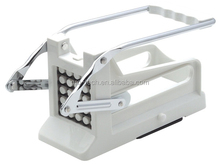 French Fry Potato Cutter Chip Slicer with Round Bottom for Easy Slicing