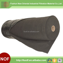 Glassfiber Black Color needle punched filter felt /Filter cloth