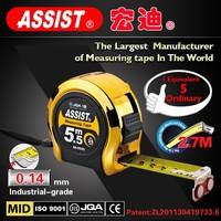 China manufacture 3m 5m 7.5m 8m 10m measuring tools types of tape measure