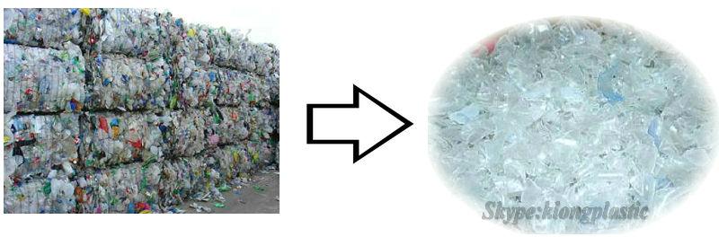 automatic bottle recycling machine