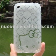 Transparent-Resin Soft Case for iPhone3G