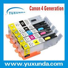 yuxunda 5 colors PGI450/CLI451 Compatible ink cartridge with chip for Canon Pixma IP7240 /MG5440 /MX724/MX924