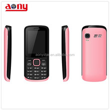 Latest China mobile phone 2.4inch cheap dual sim cellphone with 2000mah battery