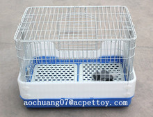 safety and plastic Dog foldable cage