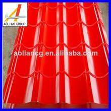 zinc corrugado para techos de chapa de acero