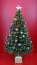 Handmade Fiber Optic Christmas Tree