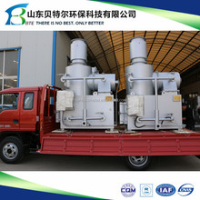 small hospital garbage management incienrator, solid waste disposal machine---3-5 days quick delivery time