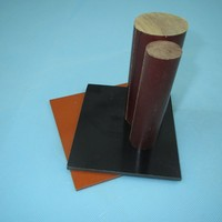 Hard Plastic Material Forms Cloth Laminated Bakelite Sheet