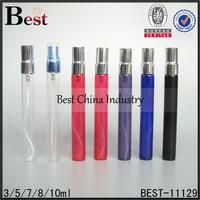 10ml empty glass perfume atomizer