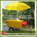 mobile carrinho de cachorro quente para a venda